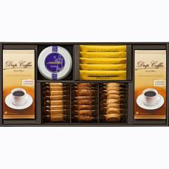 コーヒー・ココア・紅茶&クッキーセット  ティーブレイクアソートドリップコーヒー ティーバッグ クッキー 詰合せ/