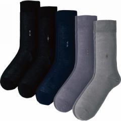紳士ビジネスソックス5足セットメンズ靴下/J3591