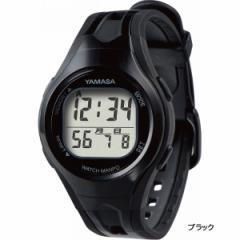 ヤマサ ウォッチ万歩計歩数計 健康器具 測定/TM-400(B/B)