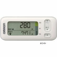 オムロン 活動量計 カロリスキャン歩数計 健康器具 測定 ヘルスケア/HJA-400-W