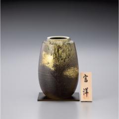 ギフト 8号花瓶 信楽焼 森の都/sha‐6