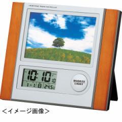 写真立て 時計フォトフレーム電波時計記念品 ギ...