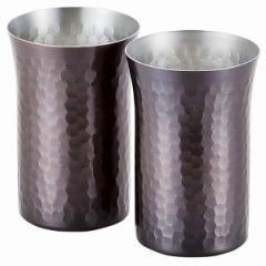 純銅カップ260ml 2P 燕三 酒器 飲料用容器