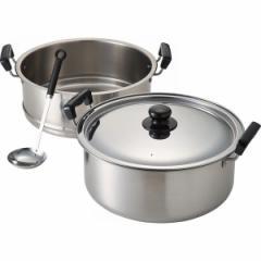 鍋二段蒸し器 30cmIH対応調理器具/7041113