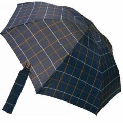 ミニ折りたたみ傘 先染格子 ケンショウ・アベ メンズファッション 小物/OAB—5000M