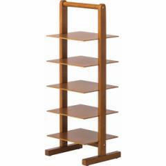 木製スリッパ棚棚式スリッパラックインテリア 玄関収納/RG−S3077BR