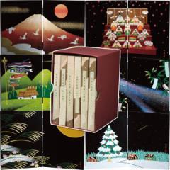 木製屏風 6枚セット 日本の歳時飾り 置物/0001088