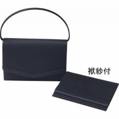 かばんフォーマルバッグ(袱紗付) 「シルク印伝」使い 日本製レディースファッション 小物