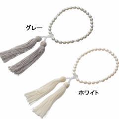 数珠パール念珠レディースファッション 小物 冠婚葬祭/NJ−0401CPW