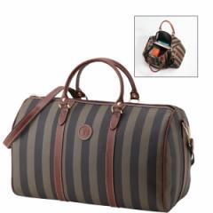 ボストンバッグストライプ男女兼用ボストンレディースファッション メンズファッション 旅行用品/801