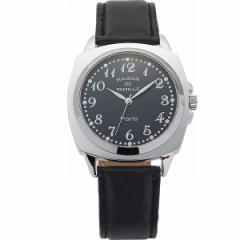 腕時計メンズウオッチ メゾン・ドゥ・ファミーユ メンズファッション 小物/MA−040B