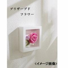 ギフト 花飾り 壁掛け飾りプリザアレンジ フレームタイプインテリア 置物/H14−509