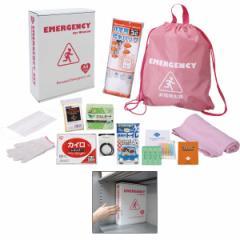 非常用持出し袋女性のための非常持出セット(12点セット)日用雑貨 防災対策/JS−EA