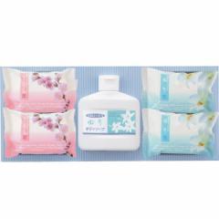 石鹸 プチギフト ボディソープ&石けんセット ゆり&さくら バス用品