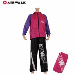 レインスーツAIR WALK  Lサイズ男女兼用 メンズ レディース レインウェア 自転車/13AW-RS-L PP×PK