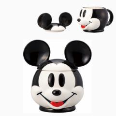 フタ付きマグカップ ミッキーマウス ディズニープレゼント かわいい 一人用 一人暮らし/SAN2313-1