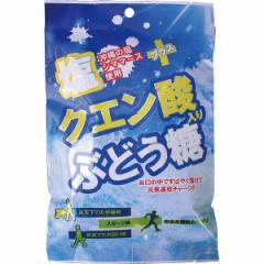 塩+クエン酸入りぶどう糖(20粒×10袋)熱中症対策 ラムネ/71318