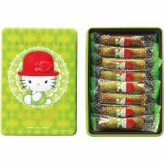 クッキー缶 抹茶ロールハローキティ販促品 粗品 洋菓子 かわいい/16512