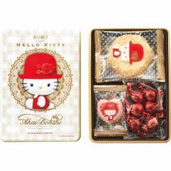 クッキー缶 プレミアムアソートハローキティ販促品 粗品 洋菓子 かわいい/16513