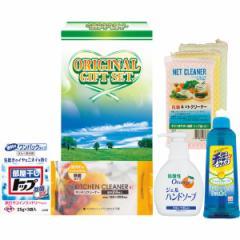 暮らしのクリーンセット洗濯洗剤 食器用洗剤 スポンジ ハンドソープ キッチンクリーナー/IHT−10