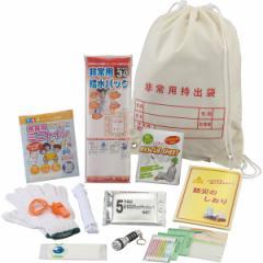 防災グッズレジャー・防災用13点セット非常用持ち出し袋/36305