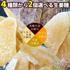 【生姜糖】 送料無料♪ 生姜のドライフルーツ 選べるお得な2個セット 体温まる生姜