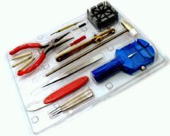 時計工具セット[腕時計用工具16点セット] AC-W-KG16[メール便発送、送料無料、代引不可]