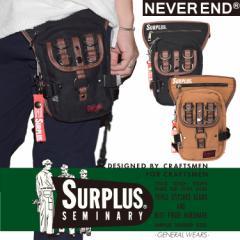 SURPLUS コットンキャンバス レッグバッグ 8651-721
