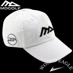 MDゴルフ ノーマン・ドリュー キャップ ホワイト