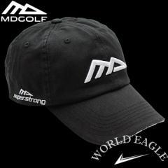 MDゴルフ キャップ ブラック