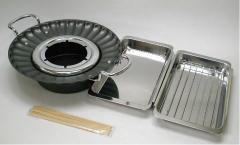 串揚げ天ぷら鍋セット26cm