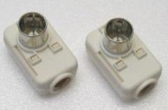 アンテナ部品:「TVコンセントプラグ」コンセントから 電波を取り出せるプラグです。HP-7A-2B
