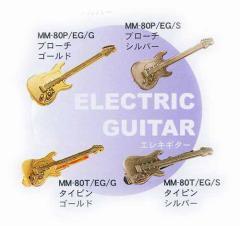 ミニチュアブローチ&タイピン:エレキギター