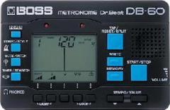 【即日発送O.K】BOSS DB60 ボス電子メトロノーム ドクタービート DB-60【z8】