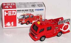 トミー●トミカ【41 モリタ ポンプ消防車】