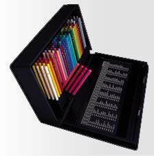 送料無料  三菱色鉛筆ユニカラー100色セット プロも愛用