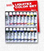 20%off リキテックスカラーアクリル絵具伝統色18色セット 6号チューブ レギュラータイプ