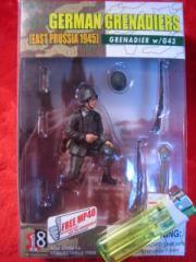 ■遠州屋■ ドイツ兵 1945 GRENADIER w/G43 完成品♪