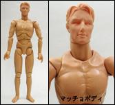 [20%OFF]モデル人形男性マッチョボディ デッサンやオリジナルのフィギュア製作に