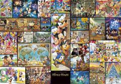ディズニー ジグソーパズル【DG-2000-533アート集 ミッキーマウス】ぎゅっとサイズ2000ピース(51×73.5cm)/テンヨー
