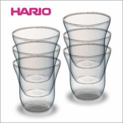 送料無料 HARIO(ハリオ) 【ちいさなカップ 70ml  6個組】 HAC-1  ティーカップ