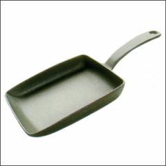 及源 角玉子焼き器 F-141たまご焼き器【南部鉄器】卵焼き器 鋳物 鉄鍋
