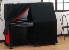 甲南 ピアノカバー 上製フルカバー アップライトピアノ用ブラック
