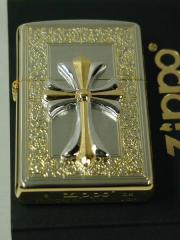Zippo クロスコンビ・メタル 金銀シルバー&ゴールド6 SG 新品