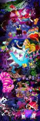 Disneyディズニー ふしぎの国のアリス パノラマパズル【D-950-588 アリスイン ワンダーランド】テンヨー