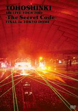 (日本版)東方神起の「4th LIVE TOUR 2009 -The Secret Code- FINAL in TOKYO DOME」DVD
