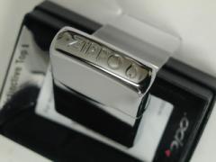 ジッポーZippoCrownStampクラウンスタンプ(天板ジッポーロゴ)銀ミラー定番新品
