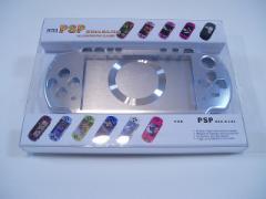 PSPアルミ製軽量シェルケース(PSP2000専用) ★PSP保護ケース★色: シルバー(プロテクトケース) GG