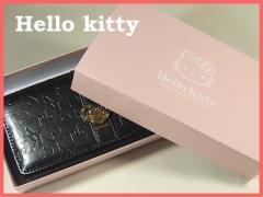 【数量限定】大人気!ハローキティー長財布◆黒◆...