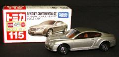 トミカ【No.115 ベントレー コンチネンタル GT】タカラトミー